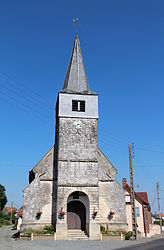 The church of Le Ponchel