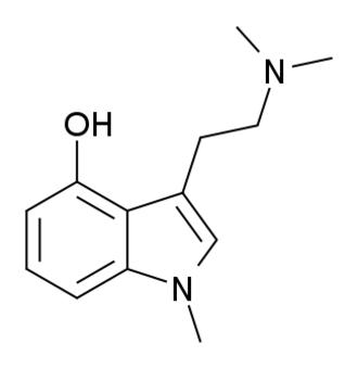 1-Methylpsilocin - Image: 1 Methylpsilocin structure