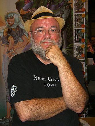 Richard Starkings - Starkings at the 2011 New York Comic Con.