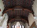 118 Castell de Santa Florentina (Canet de Mar), sostre del saló del tron.JPG