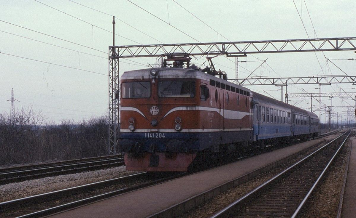 Zeleznicni Trat Belehrad Zahreb Wikipedie