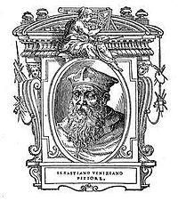 Sebastiano Veneziano arcképe Vasari életrajzaiból