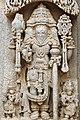 12th century Chennakesava temple at Somanathapura, Karnataka, India Lord Brahma.jpg