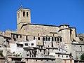 133 Santa Maria de Guimerà, façana sud, des de la carretera L-241.jpg