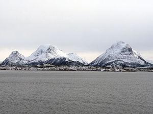 Aure, Norway - View of Tustna.