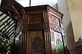 1630 pulpit, Chickerell, Dorset.jpg