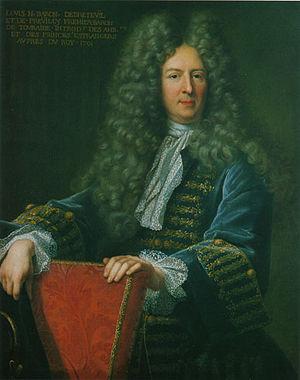 Louis Nicolas le Tonnelier de Breteuil - The baron of Breteuil by Hyacinthe Rigaud