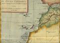 1783 Partie occidentale de l'ancien continent depuis Lisbonne jusquà la Riviere de Sierra Leona par Bonne BPL 14672.png
