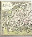 1822 Plan der Residenzstadt Hannover, mit der Angabe der Hausnummern, 600 dpi, linke Hälfte.jpg
