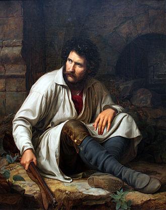 Theodor Hildebrandt - Image: 1829 Hildebrandt Raeuber anagoria
