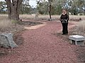 1844 - Myall Creek Massacre and Memorial Site - The red gravel of the walkway is to remind us of all the blood that was shed here (5056626b2).jpg