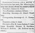 1858 GloucesterLyceum GloucesterTelegraph May12.png