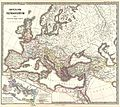 1865 Spruner Map of the Roman Empire under Constantine - Geographicus - ImperiumRomanorum-spruner-1865.jpg
