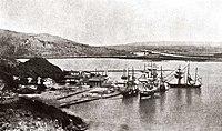 1867年的打狗港哨船頭