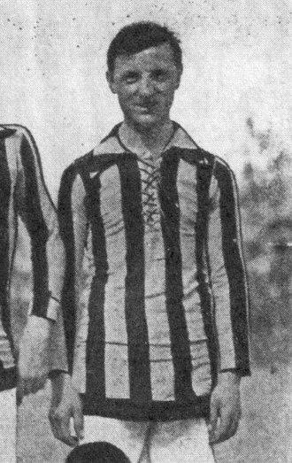 Luigi Cevenini - Cevenini III with Inter Milan in the 1920–21 season