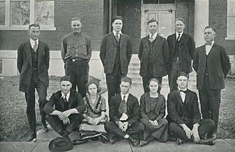 Cass County, Texas - The Cass County Club at East Texas State Normal College in 1921