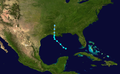 1937 Atlantic tropical storm 9 track.png