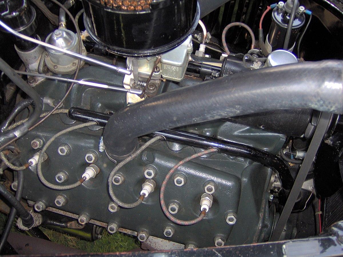 Ford Flathead Moottori Wikipedia 1948 Truck Cast S