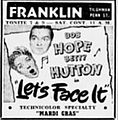 1944 - Franklin Theater Ad - 14 Jan MC - Allentown PA.jpg