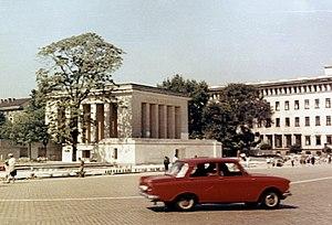 Georgi Dimitrov Mausoleum - The Georgi Dimitrov Mausoleum in August 1969