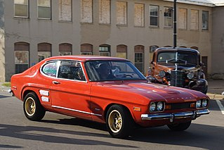 Mercury Capri Motor vehicle