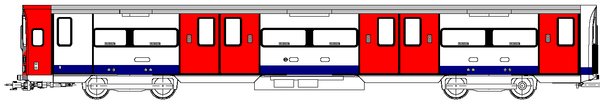 Diagram of a 1995 stock driving car