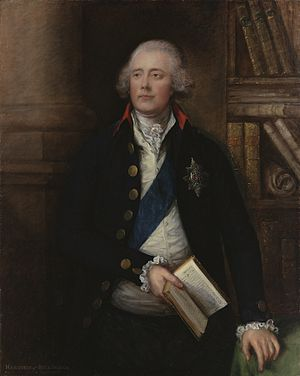 Secretary of State for Foreign and Commonwealth Affairs - Image: 1st Marquess Of Buckingham