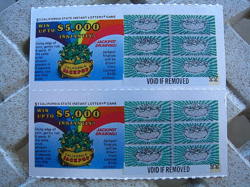 File:1st California Lottery Tickets.jpg