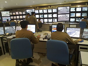 Incidents during the Hajj - The Saudi government has created a CCTV network to oversee security during the event.