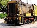 20010708 Maastricht; locomotive at level-crossing between Heerderweg and Duitse Poort 1.jpg