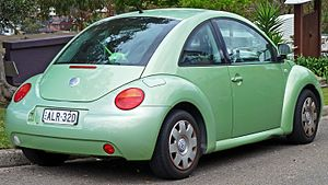 Volkswagen New Beetle - Coupe (pre-facelift)