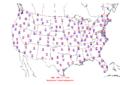 2006-04-17 Max-min Temperature Map NOAA.png