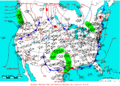 2006-05-06 Surface Weather Map NOAA.png