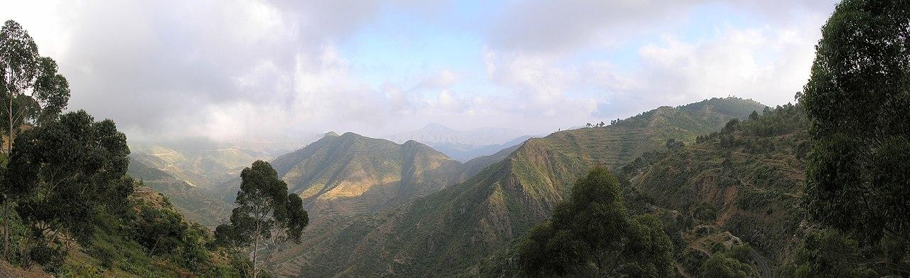 Dataran tinggi antara Asmara dan Massawa