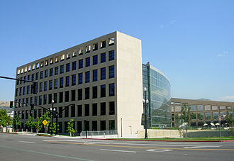 Salt Lake City Public Library system - The Main Branch of the Salt Lake City Public Library system