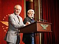 2006 Summit Hosts Steven Spielberg and George Lucas welcome the Academy delegates and members to the International Achievement Summit in Los Angeles.jpg