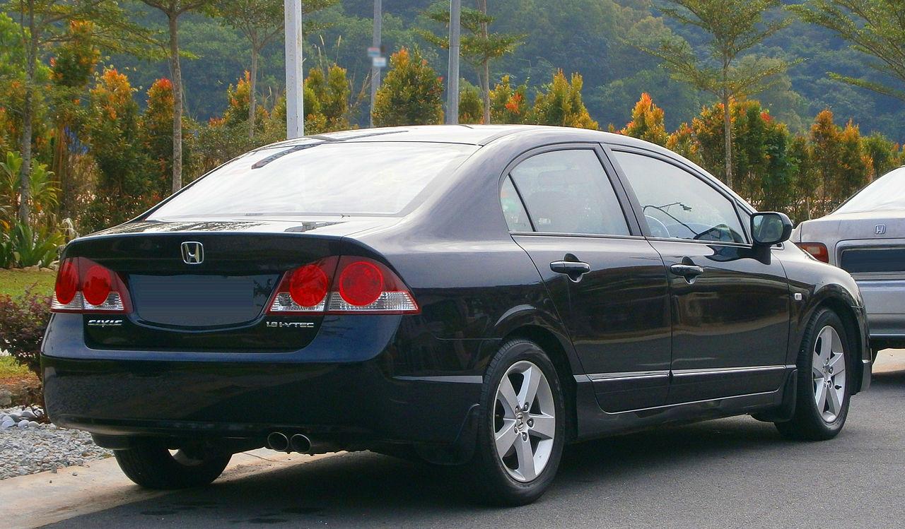 File 2007 Honda Civic 1 8s Saloon In Puchong  Malaysia  02