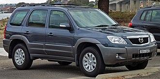 Mazda Tribute - 2006–2008 Mazda Tribute (Australia)