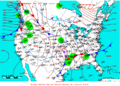 2008-01-10 Surface Weather Map NOAA.png