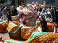 2008 Olympic Torch Relay in SF - Dragon dance 01.JPG