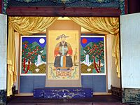2009-01-24 - Portrait of King Jeongjo in Unhangak.JPG
