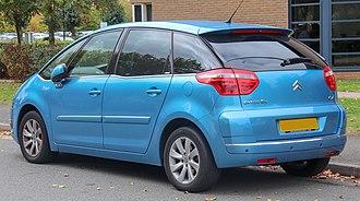 Citroën C4 Picasso - Citroen C4 Picasso (Europe; pre-facelift)