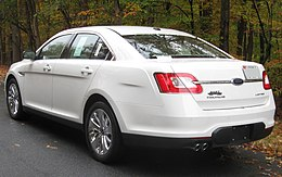 2010 Ford Taurus Limited rear -- 10-31-2009.jpg