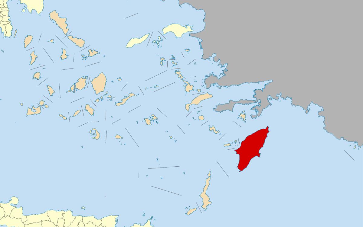Map Of Eest Island Ma