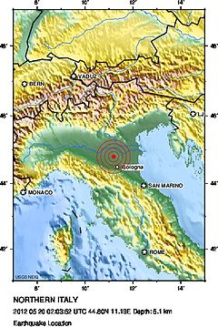 2012 Mw6.0 Northern Italy earthquake location map.jpg