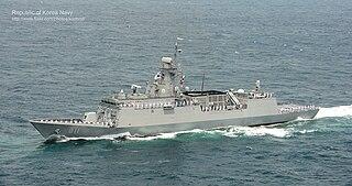 <i>Incheon</i>-class frigate Ship class