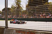 Photo de Jenson Button lors du Grand Prix d'Australie 2013