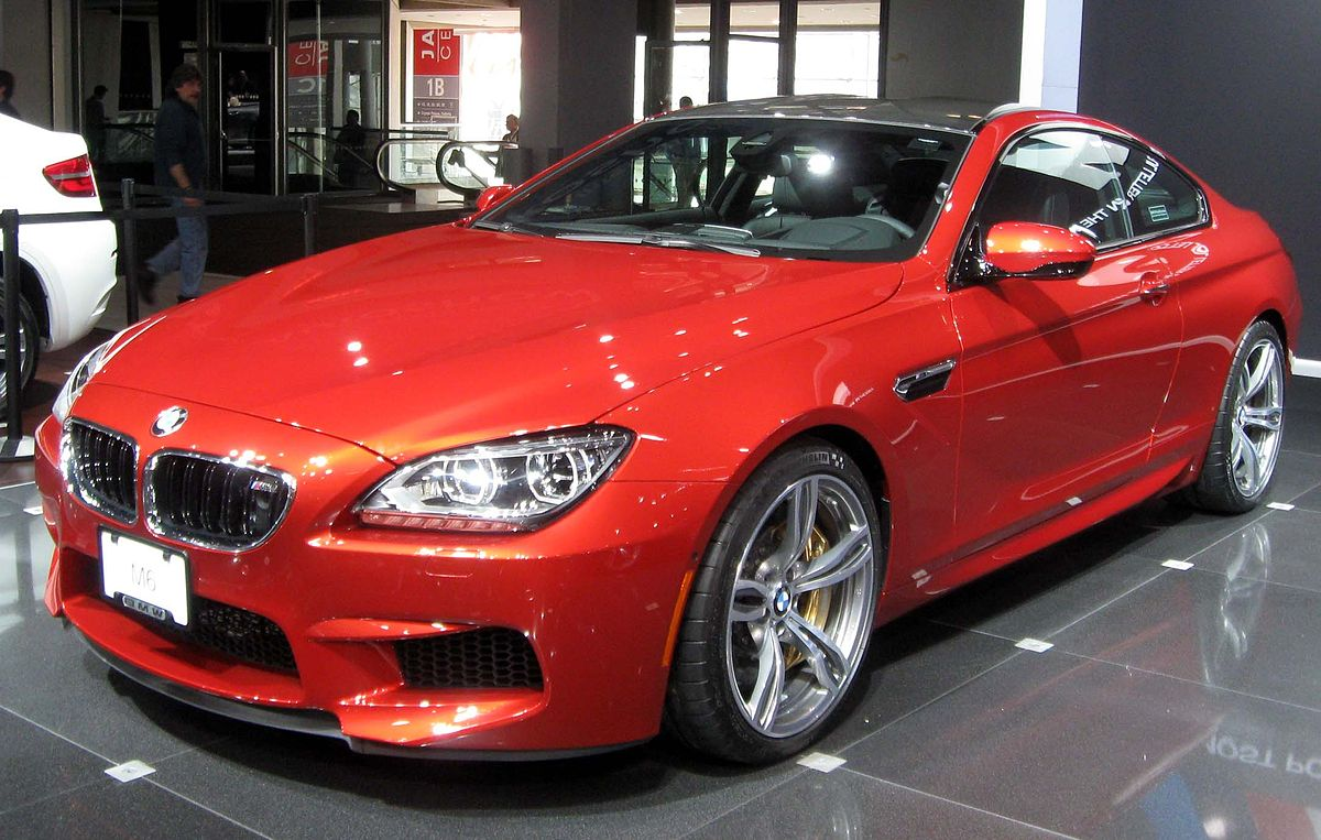 Bmw m6 wikipedia for A m motors