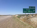 2014-06-11 13 26 25 Sign for Exit 333 along westbound Interstate 80 in Deeth, Nevada.JPG