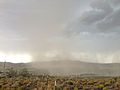2014-07-20 15 00 25 Blowing dust along the outflow boundary of a thunderstorm in Elko, Nevada.JPG